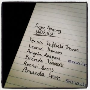 super amazing wishlist